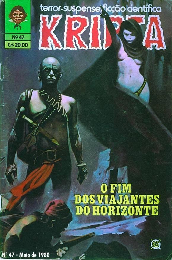 Revista Kripta 47 Rge 1976 Quadrinhos De Terror Suspense Ficção E Sobrenatural Quadrinhos De Terror Desenhos De Super Herois Gibis Antigos