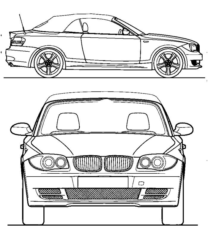 Cars Acura ILX Coloring Page