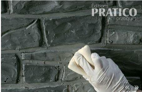 Comment faire un mur de fausses pierres Salon déco mur de brique