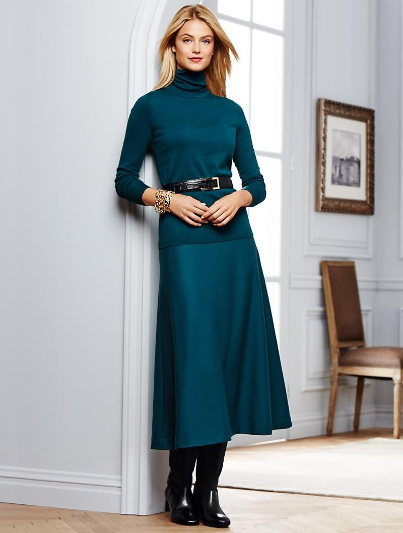 a22055e87bc Talbots - Italian Flannel Riding Skirt. Classic style