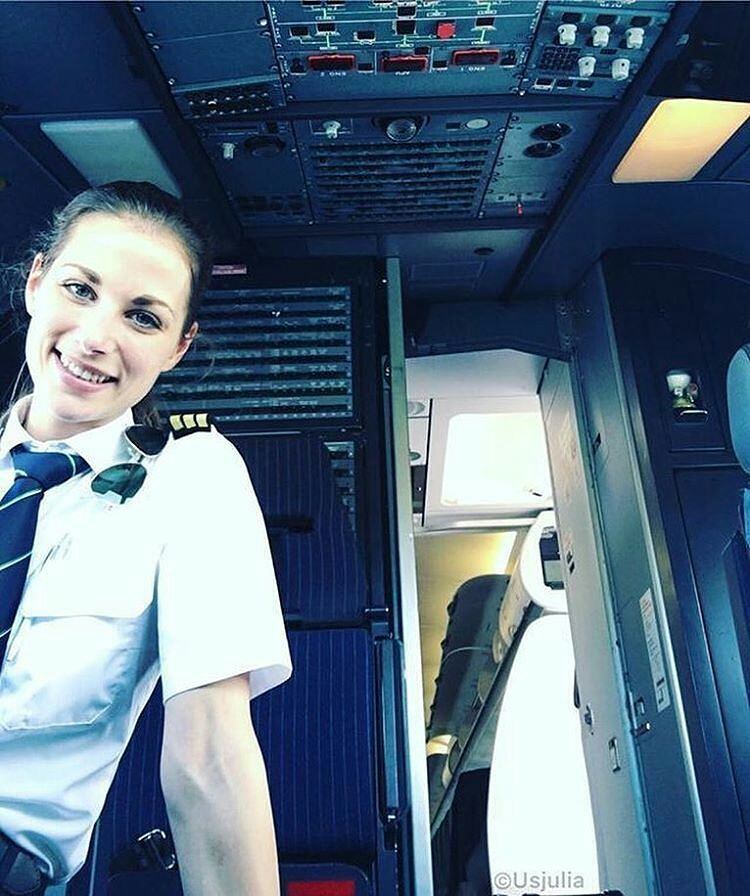 from @piloteyes737 - : @UsJulia - Positive Vibes from First Officer ...