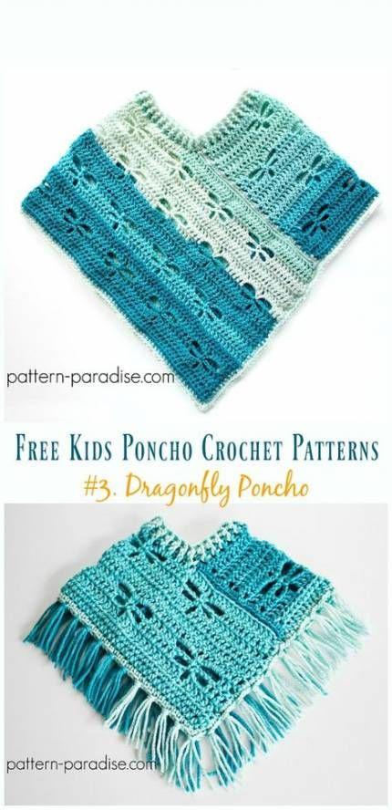 Crochet clothes patterns free kids 24+ ideas #uncinettoperbambina