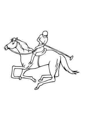 Ausmalbild Polospieler Zum Ausmalen Ausmalbilder Ausmalbilderpferde Malvorla Ausmalbilder Pferde Ausmalbilder Tiere Ausmalbilder Pferde Zum Ausdrucken