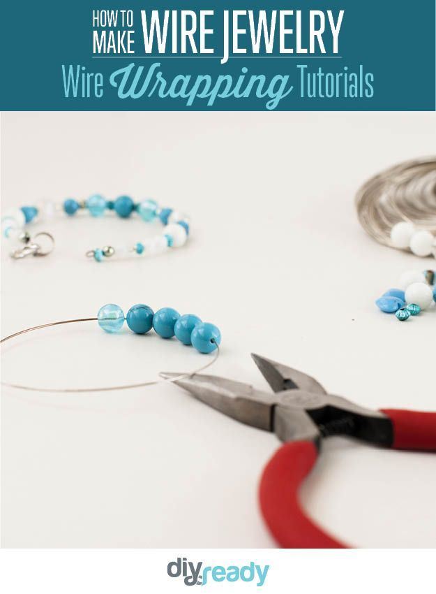 Learn How to make wire jewelry with our Wire Wrapping Tutorials | A ...