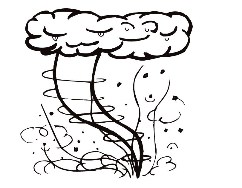 Tornado Coloring Pages Best Coloring Pages For Kids In 2020 Coloring Pages Coloring Pages For Kids Free Printable Coloring