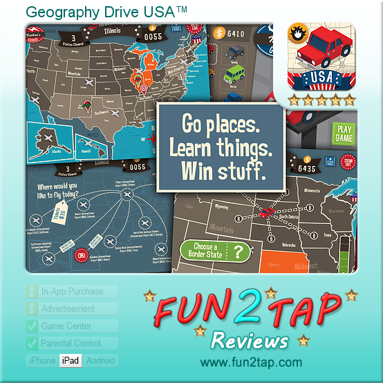 Geography Drive Usa™ Surprisingly Addictive Us Quiz