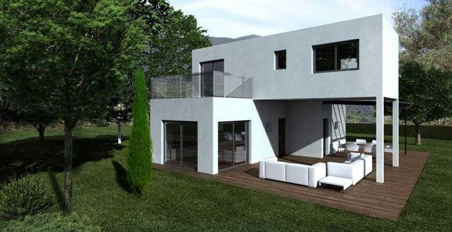 Valencia espa a casas modulares pinterest casas - Casas prefabricadas de madera espana ...