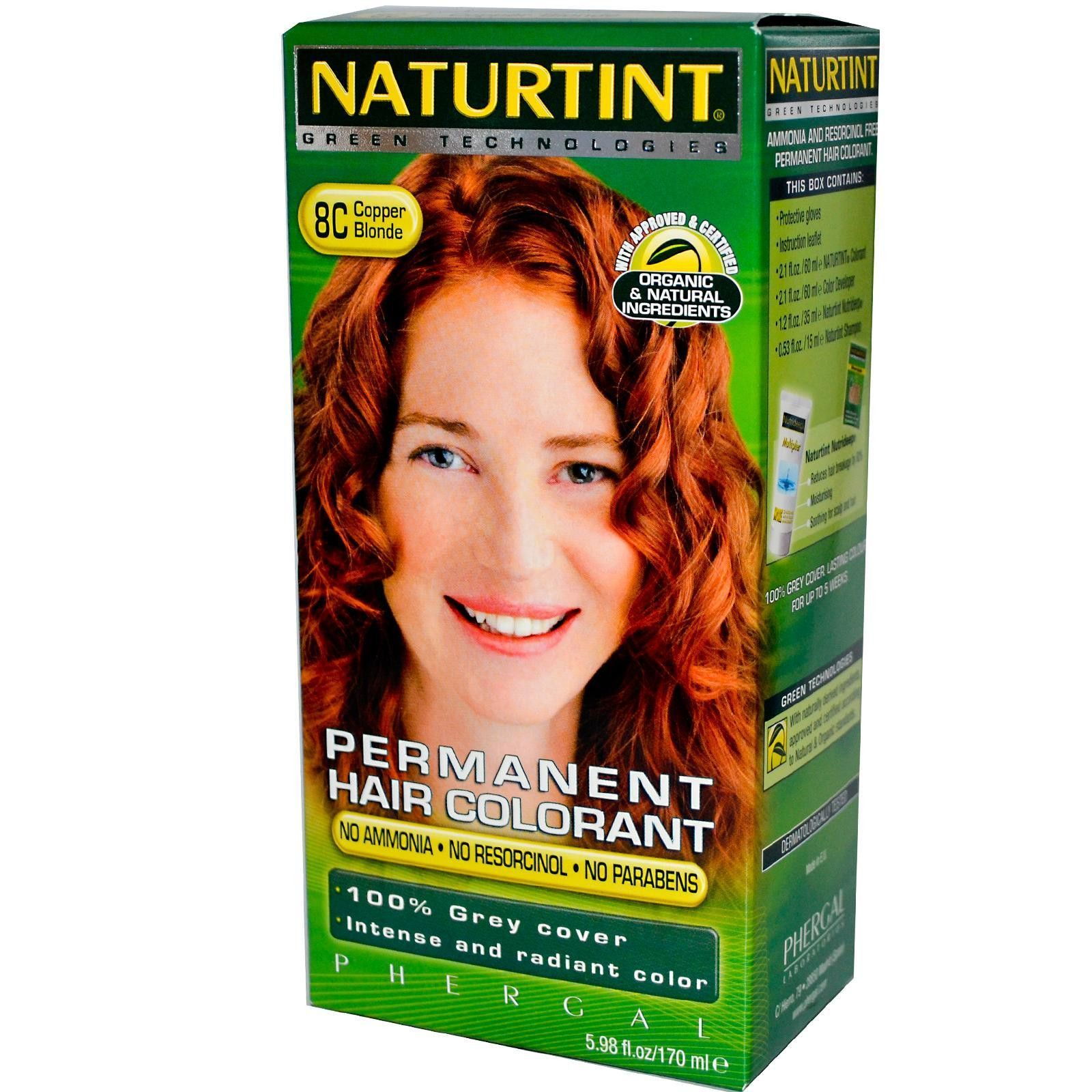 Naturtint 8c Copper Blonde Hair Color 1xkit Hairstylescolor
