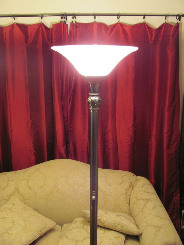 LED Torchiere Torchiere floor lamp, Floor lamp, Led