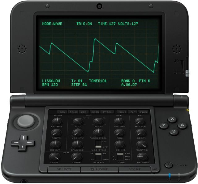 Gearjunkies.com: DeTune and Korg announce the DSN-12 for Nintendo 3DS