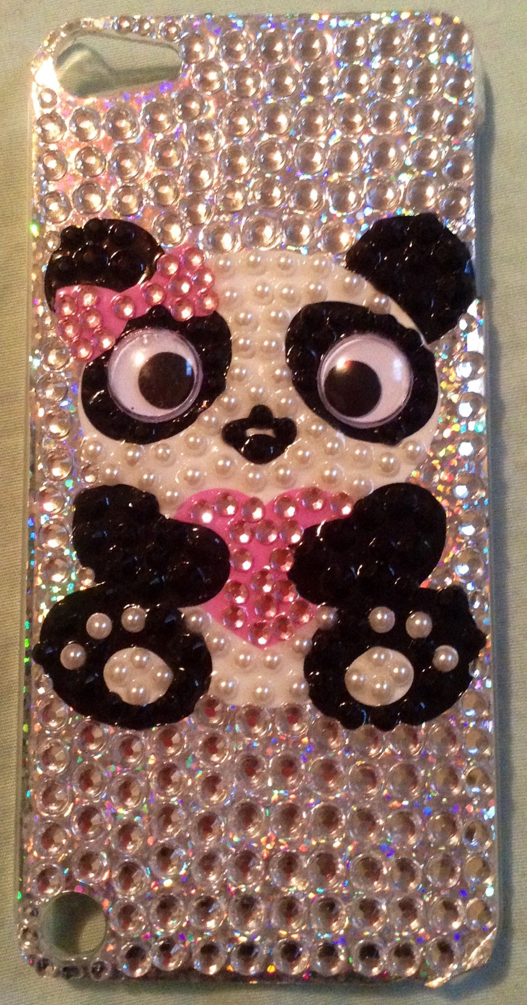 watch 3ecd1 8a4e3 Panda iPod 5th Generation case from Claire's | Ipod cases | Ipod ...