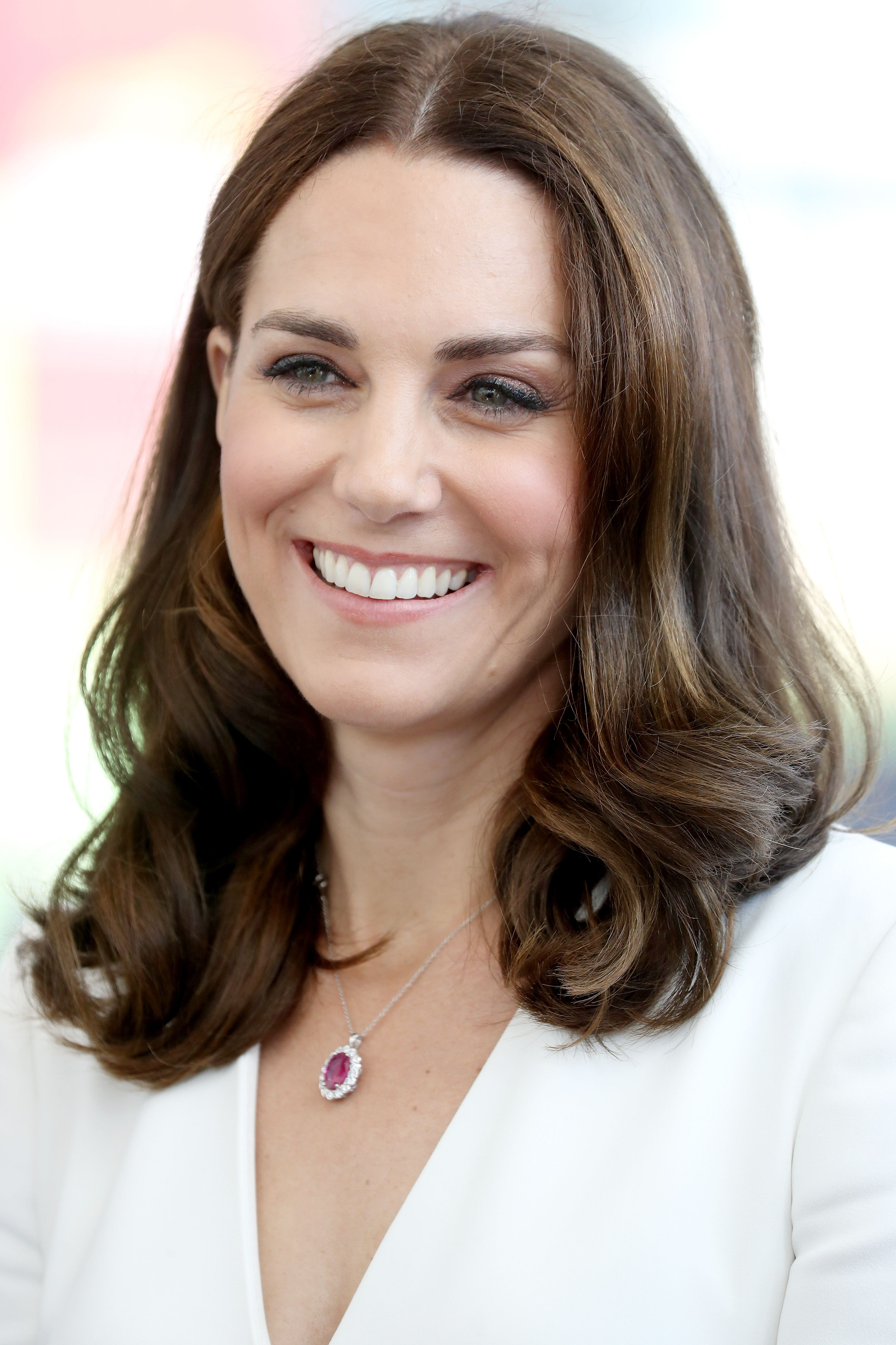 43e5d3ba20 The Most Flattering Haircuts for Oval Face Shapes - Kate Middleton from  InStyle.com