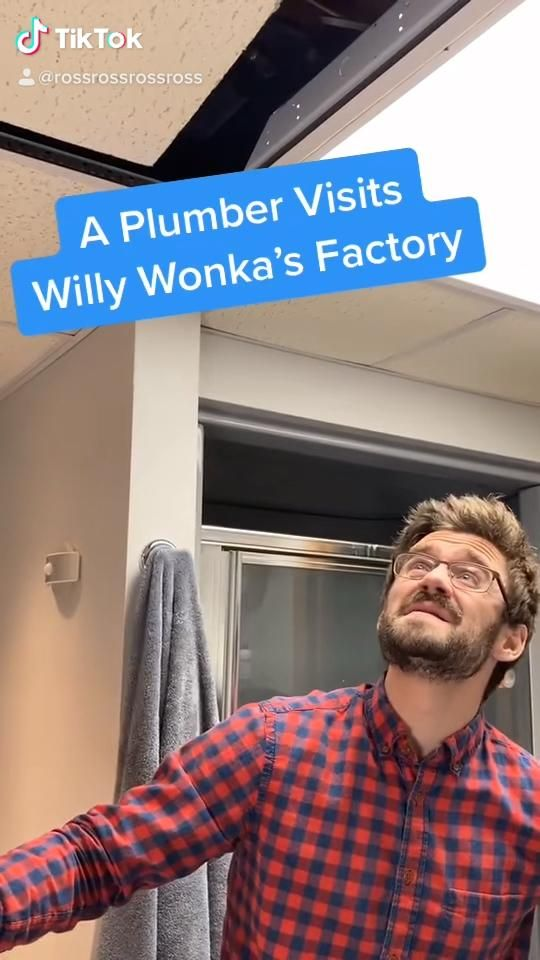 A Plumber Visits Willy Wonka's Factory