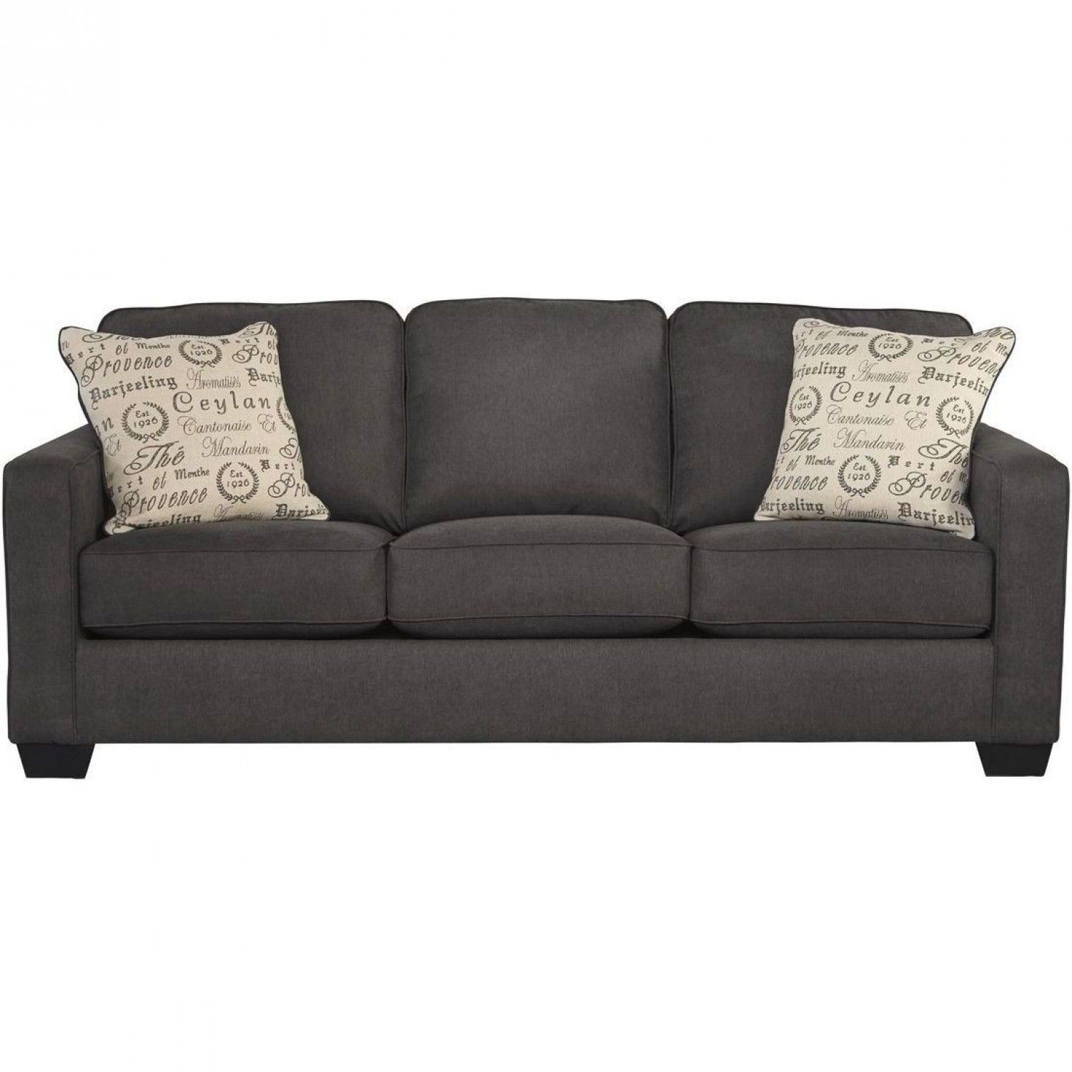 Ashley Furniture Alenya Sofa in Charcoal