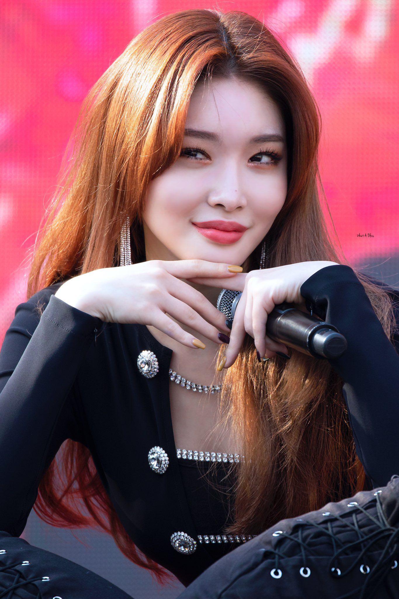 Somi【IOI】161104 music bank | Perempuan, Selebritas, Kecantikan