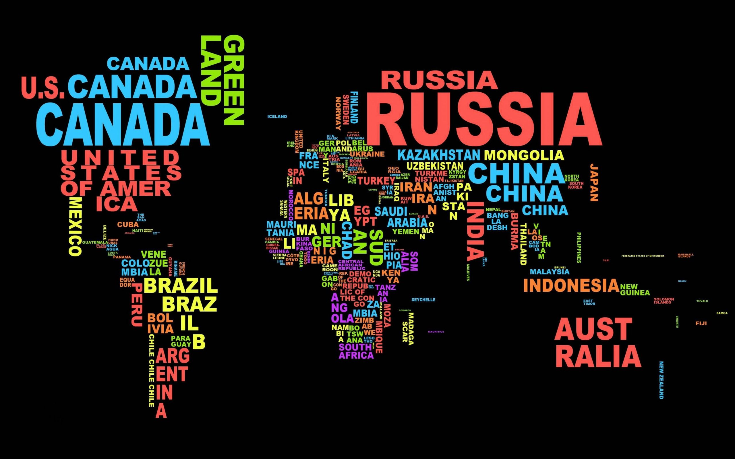 World map typography names of countries political map of the world map typography names of countries political map of the world gumiabroncs Gallery