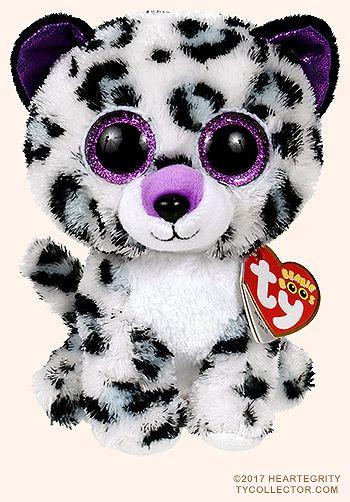 Violet Leopard Ty Beanie Boos Ty Beanie Boos Beanie Boo Dogs New Beanie Boos