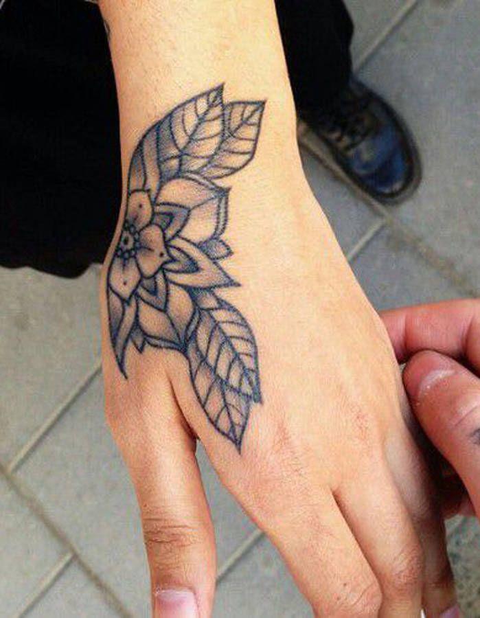 Tatouage Main Rose Tatouage Pinterest Tatouage Tatouage Fleur