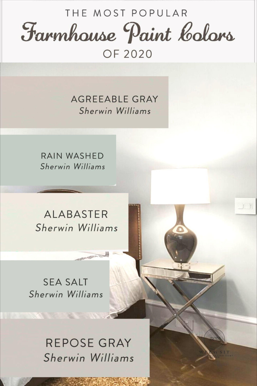 25+ Farmhouse bedroom colors model