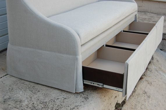 Living A Beautiful Life Dering Hall Desseault Storage Banquette Sofas Seating Furniture