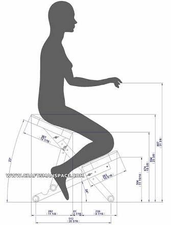 Resultado de imagen para kneeling chair design plan