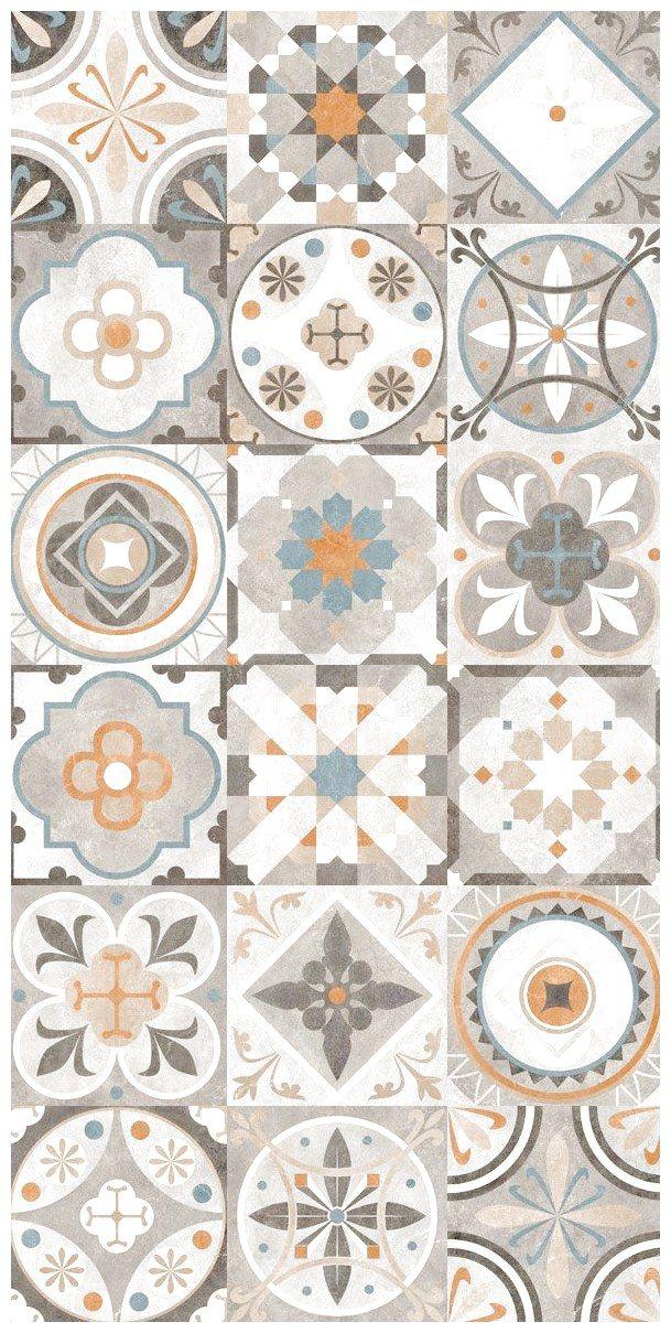 Carrelage Imitation Carreau De Ciment Ancien D Cor Gr S 60x60