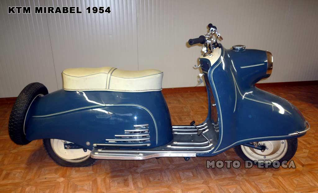 vintage moto ktm 1954 mirabel vente tong setan pinterest scooters vespa and mopeds. Black Bedroom Furniture Sets. Home Design Ideas