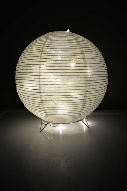 Round tabletop lantern for flameless candles inch