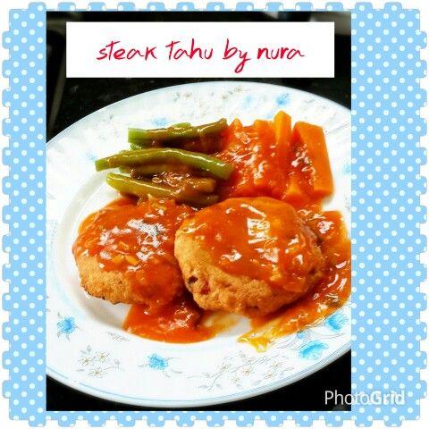 Delicious Homemade Instafood Masakanrumah Marimasak Resepimudah Steak Tahu Bahan 200 Gr Tahu Di Hancurkan Daging Ayam Di Rebus Food Chicken Steak