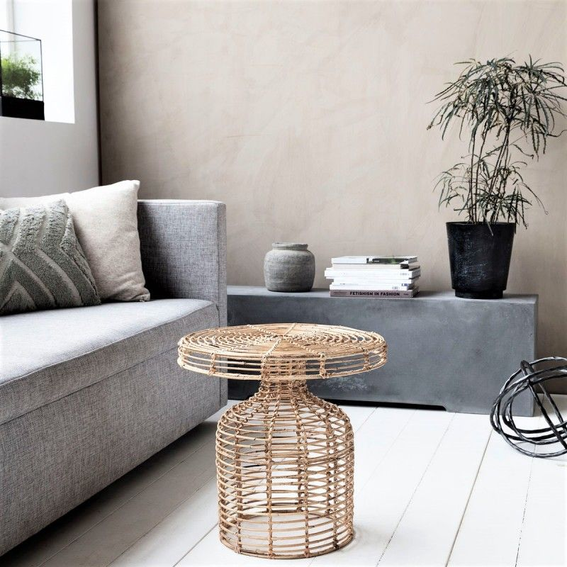 Table Basse En Rotin House Doctor Style Table Basse Table