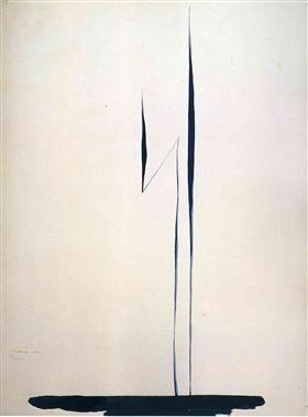 Black Lines 1 - Georgia O'Keeffe