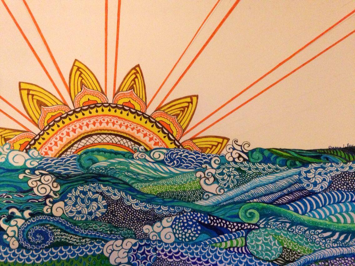 best 25 ocean drawing ideas on pinterest ocean art ocean