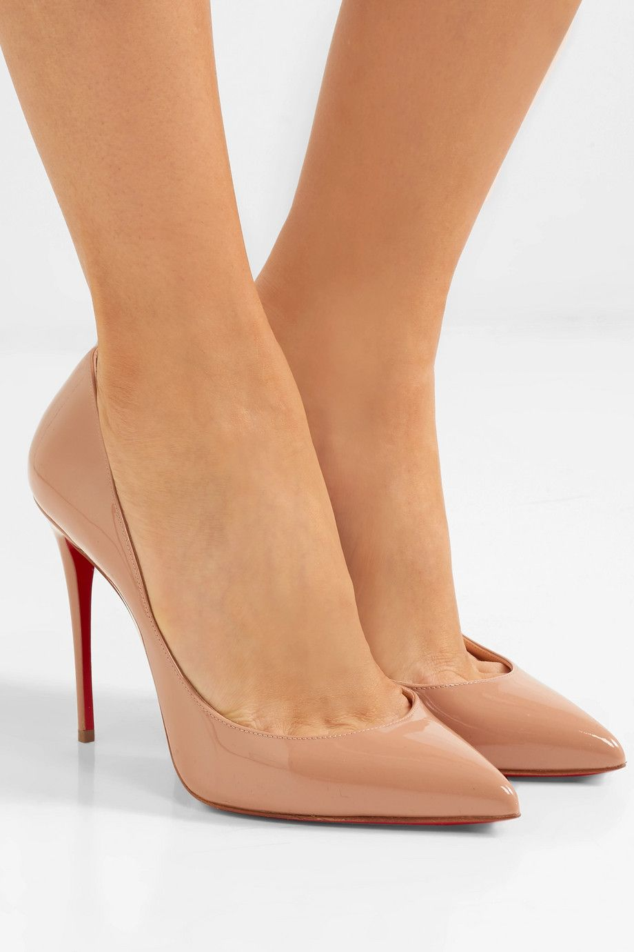 f048454ef7c Christian Louboutin Pigalle Follies 100 patent-leather pumps  695 ...