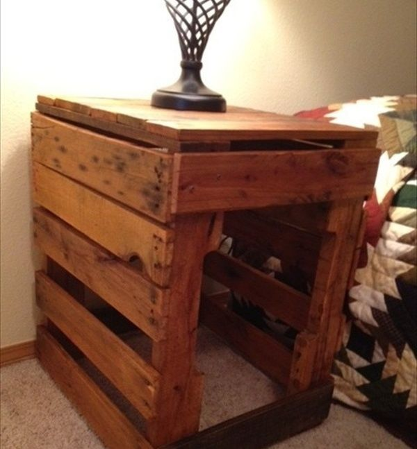 Pallet nightstand do it yourself pallets s pinterest pallet nightstand do it yourself pallets solutioingenieria Image collections