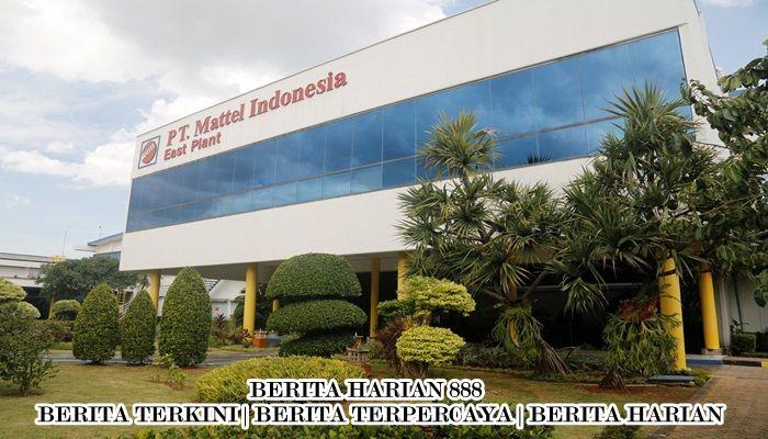 Mattel Indonesia Mengekspor $150 Juta Perminggu