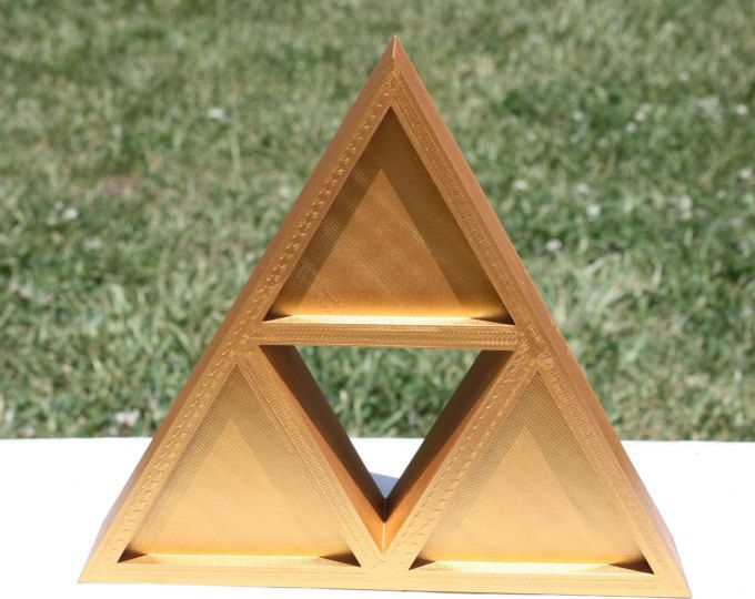Triforce , Zelda , Gamer Decor , Decor Zelda , Room Decor , Geek Decoration  ,