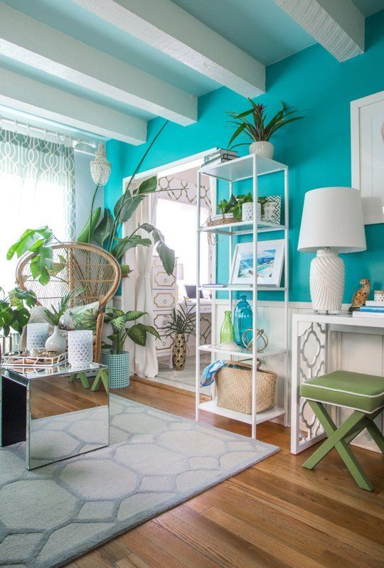 House Tour Colorful Palm Beach Regency Style Home Apartment Therapy