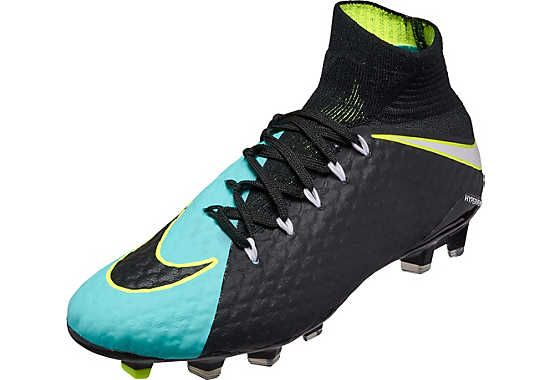 36f22f623 Women s Nike Hypervenom Phatal III DF firm ground soccer cleats. Buy them  from SoccerPro right now.