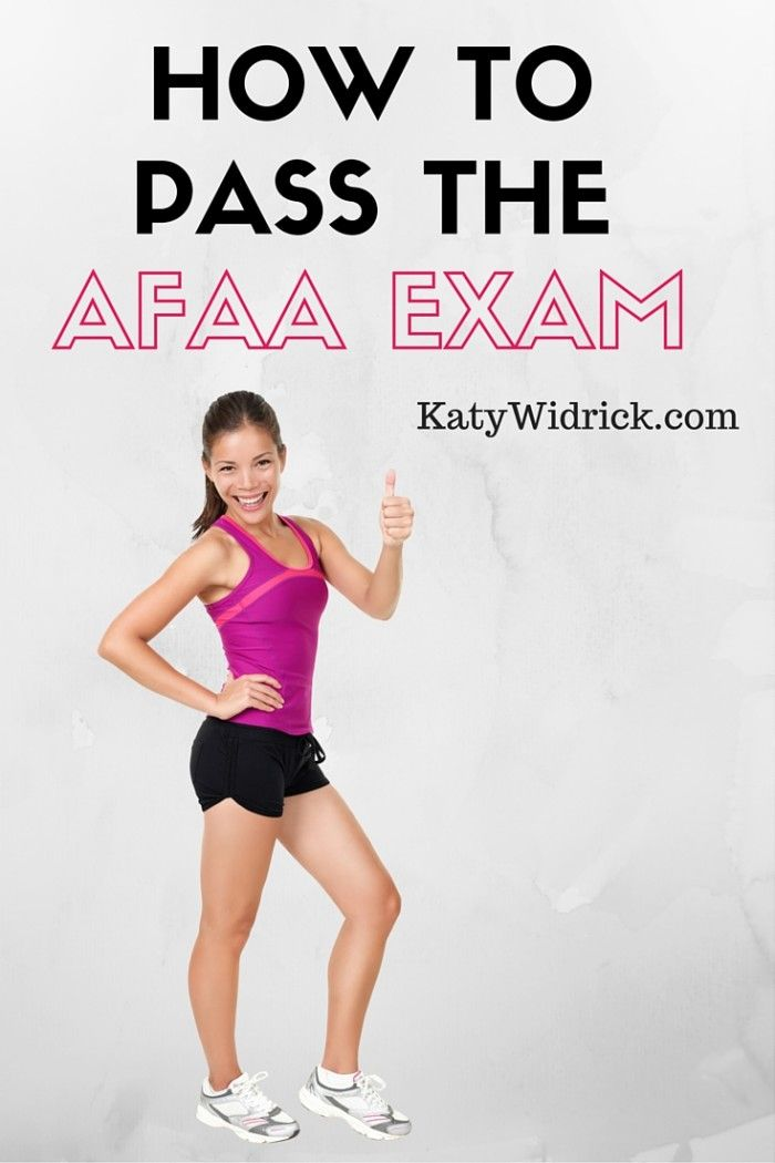 Study For Pass The Afaa Group Exercise Instructor Exam Afaa