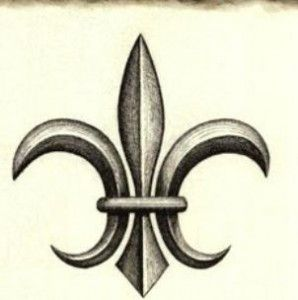 5c69a8735c1 The history of the fleur de lis (sometimes spelled fleur-de-lys) is