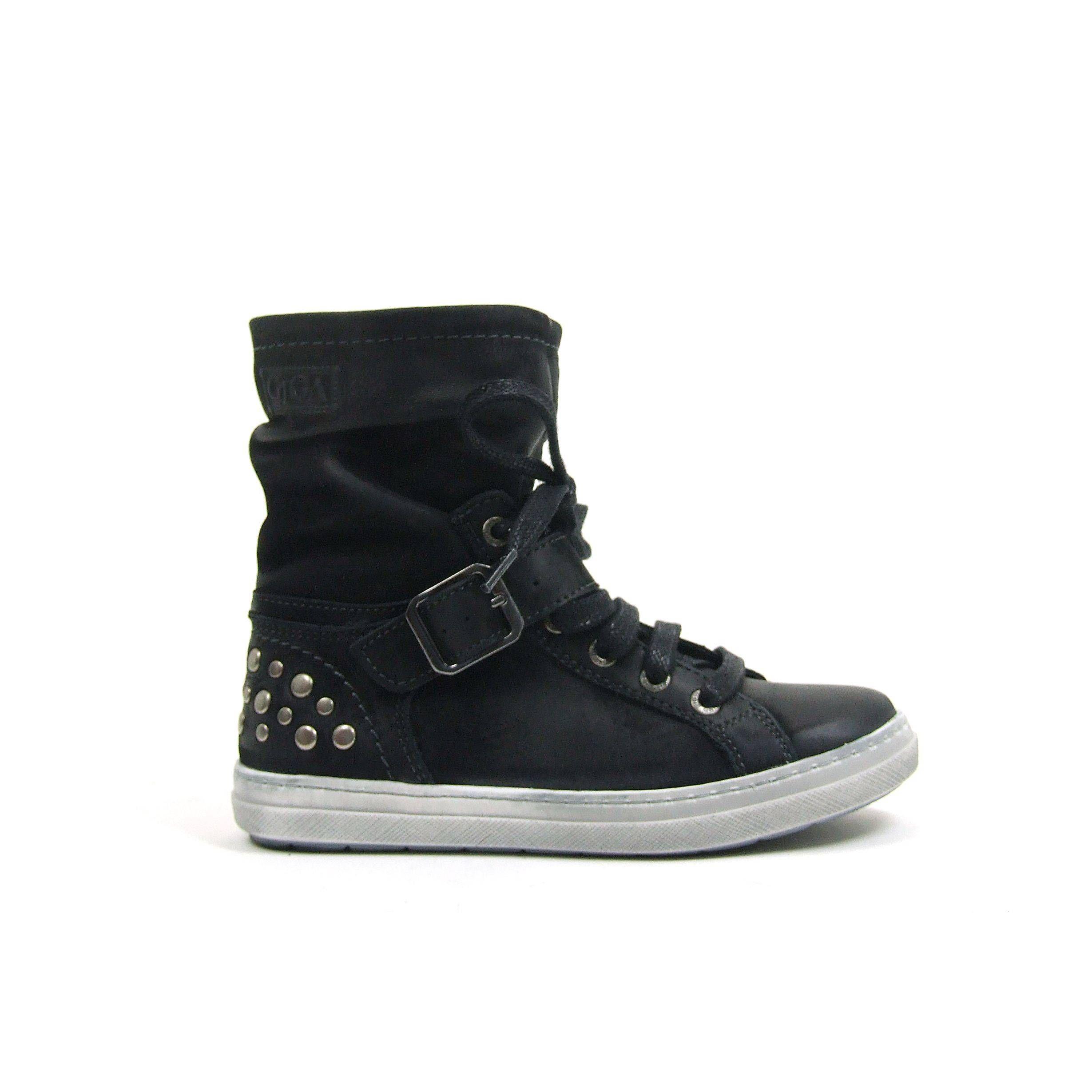 Meiden Van Boots GigaModel Zwarte Halfhoge Stoere 5664Deze NOm0v8nw