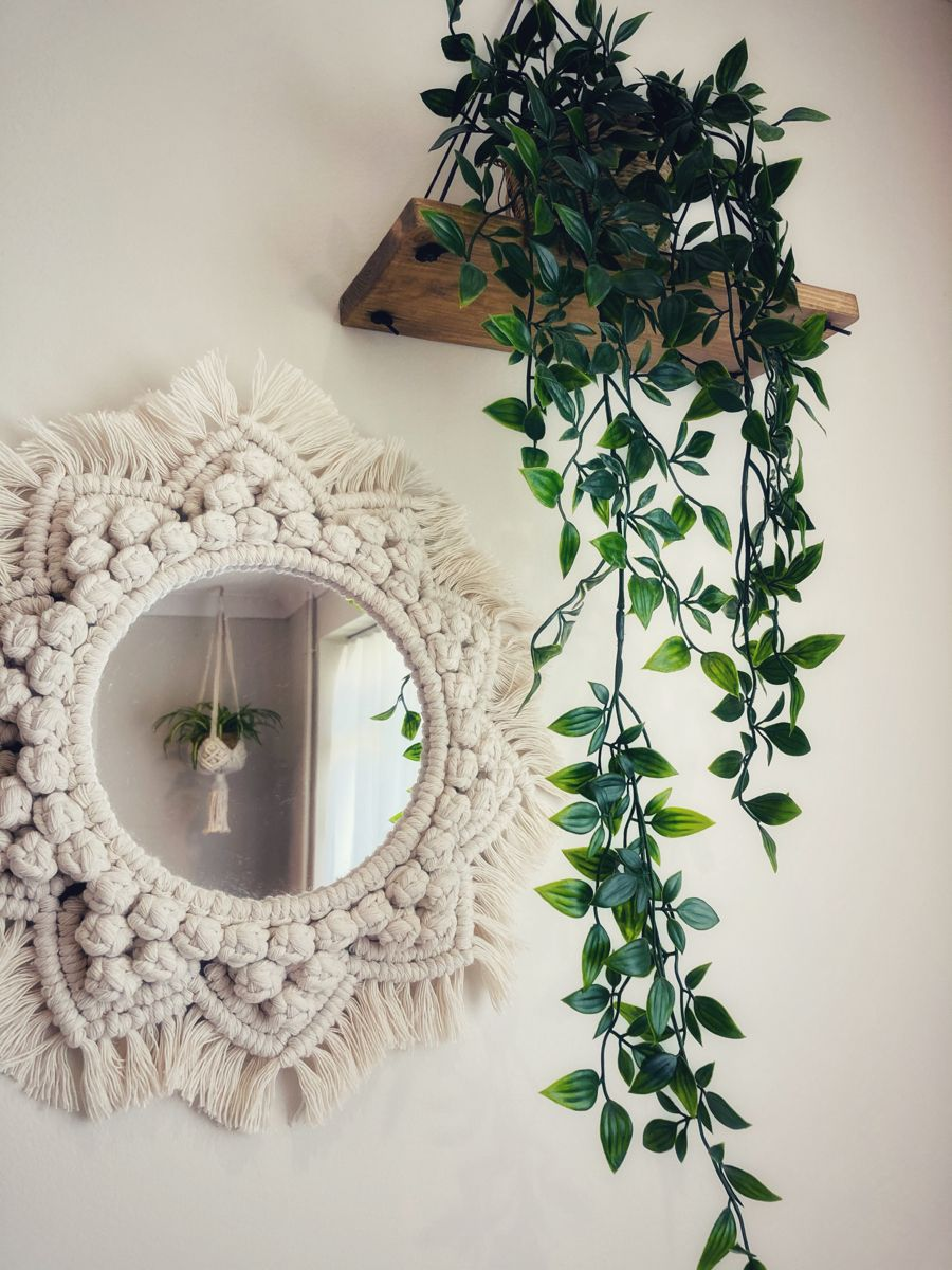 Photo of Macrame Mandala Mirror