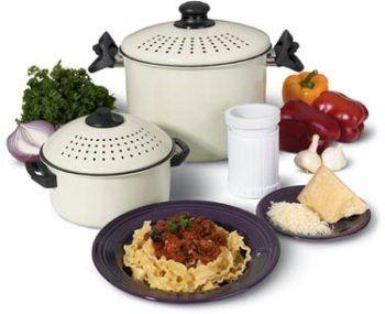 Ontel 5 Piece Better Pasta Pot Set Multipots Amp Pasta