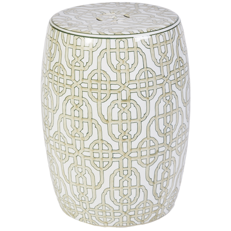 Buy Lauder Stool, Ceramic Drum Stools In Many Colours, Side Tables, Accent  Tables