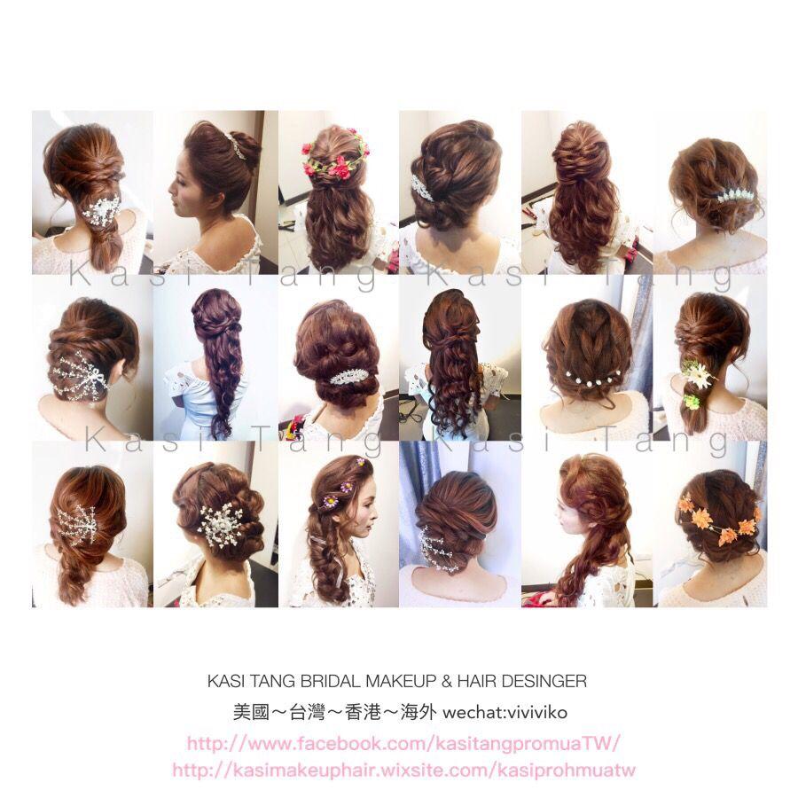 Kasi Tang Professional Bridal Makeup & Hair ---- traditional, Korean ...