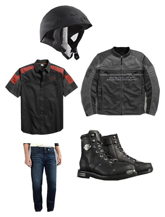 """""""Summer-To-Fall Riding"""" by batonrougeh-d on Polyvore featuring men's fashion and menswear"""