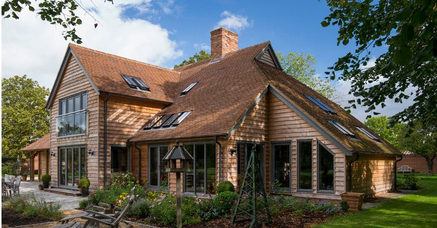 border oak design and construct beautiful bespoke green oak framed ...