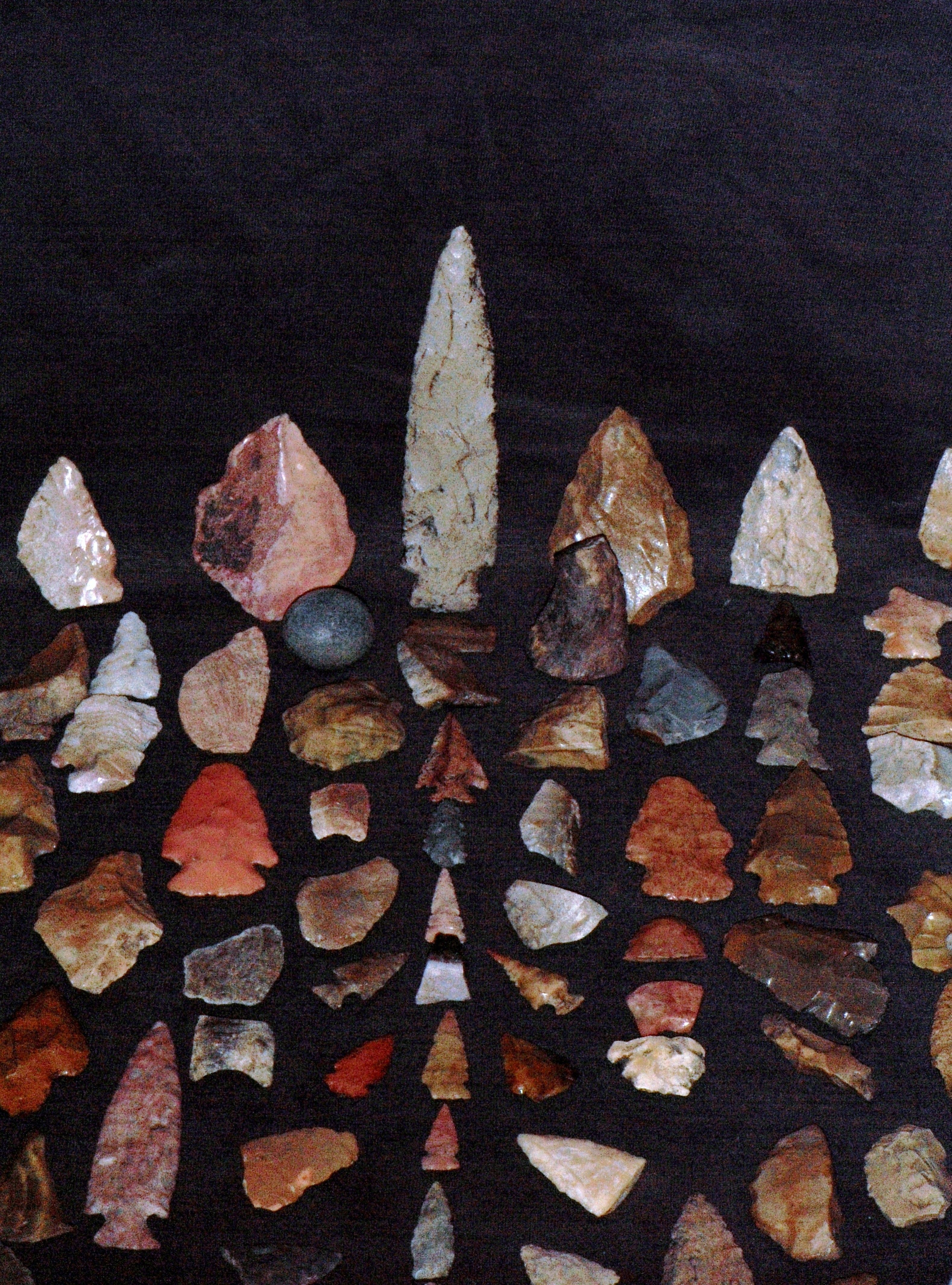 ARTIFACTS FROM ALL OVER THE US AND CANADA