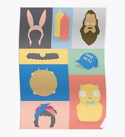 Bobs Burgers Posters