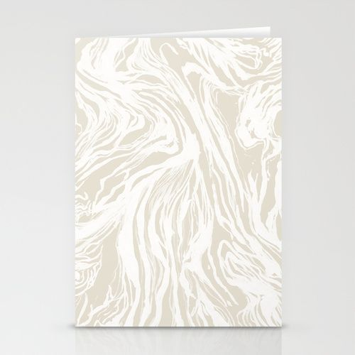Marbled Nude Stationery Cards
